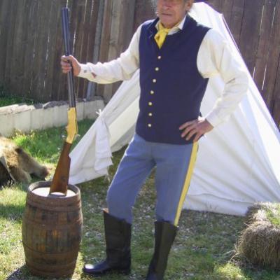 Colonel De la Tour appelé aussi Tunique Bleue