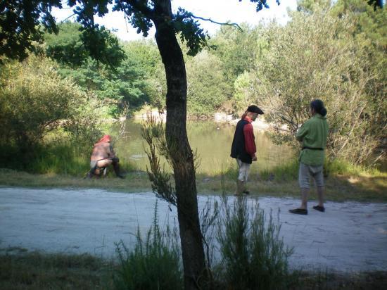 Gédéon pêche le canard, insolite !!!!!