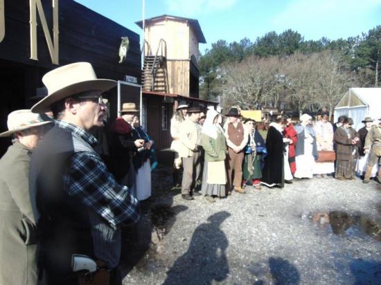 Camp Fort Rainbow - mars 2016