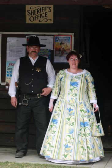 Franck (adjoint sheriff) & Katlleen